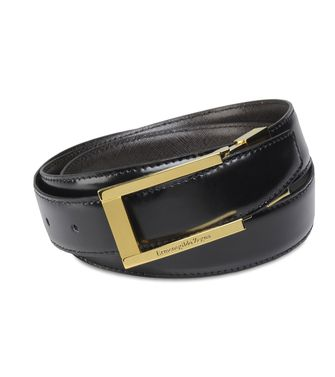 ERMENEGILDO ZEGNA: Belt Dark brown - 46199688AM