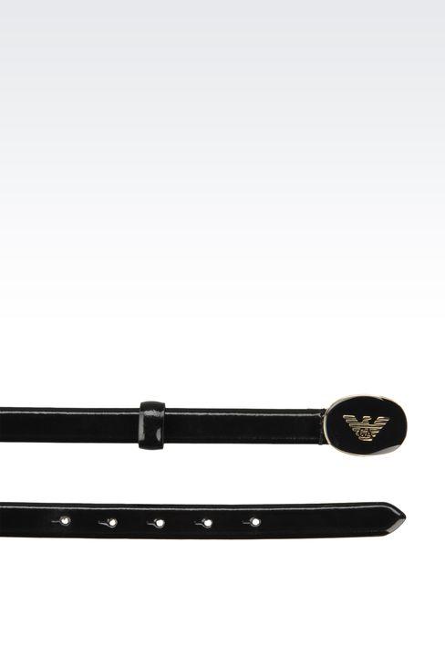 Gürtel: beidseitig tragbare Gürtel Für Sie by Armani - 2