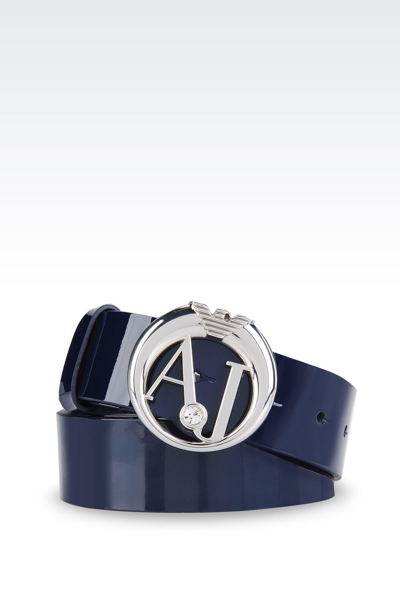 vasta selezione di 0fa15 8acd8 Cintura Armani Jeans Blu itissgv.it