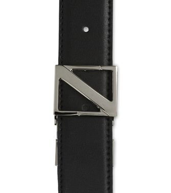 ZZEGNA: Belt Black - Dark brown - 46231431QO