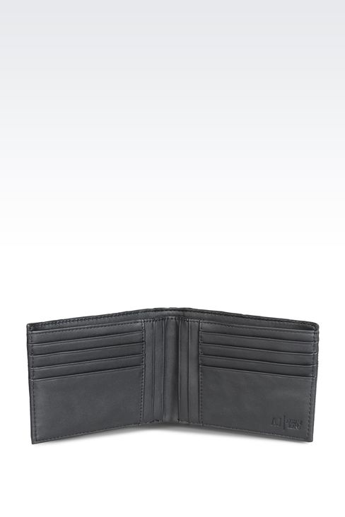 Small leather goods: Wallets Men by Armani - 3