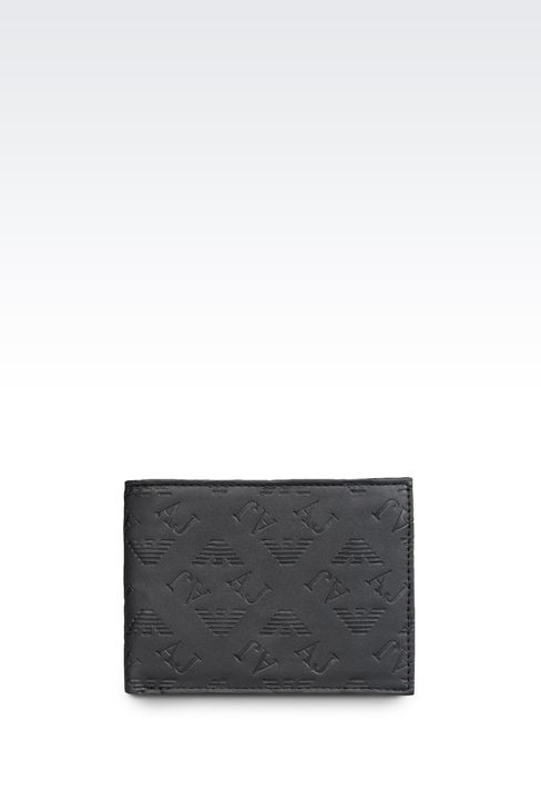 Small leather goods: Wallets Men by Armani - 1