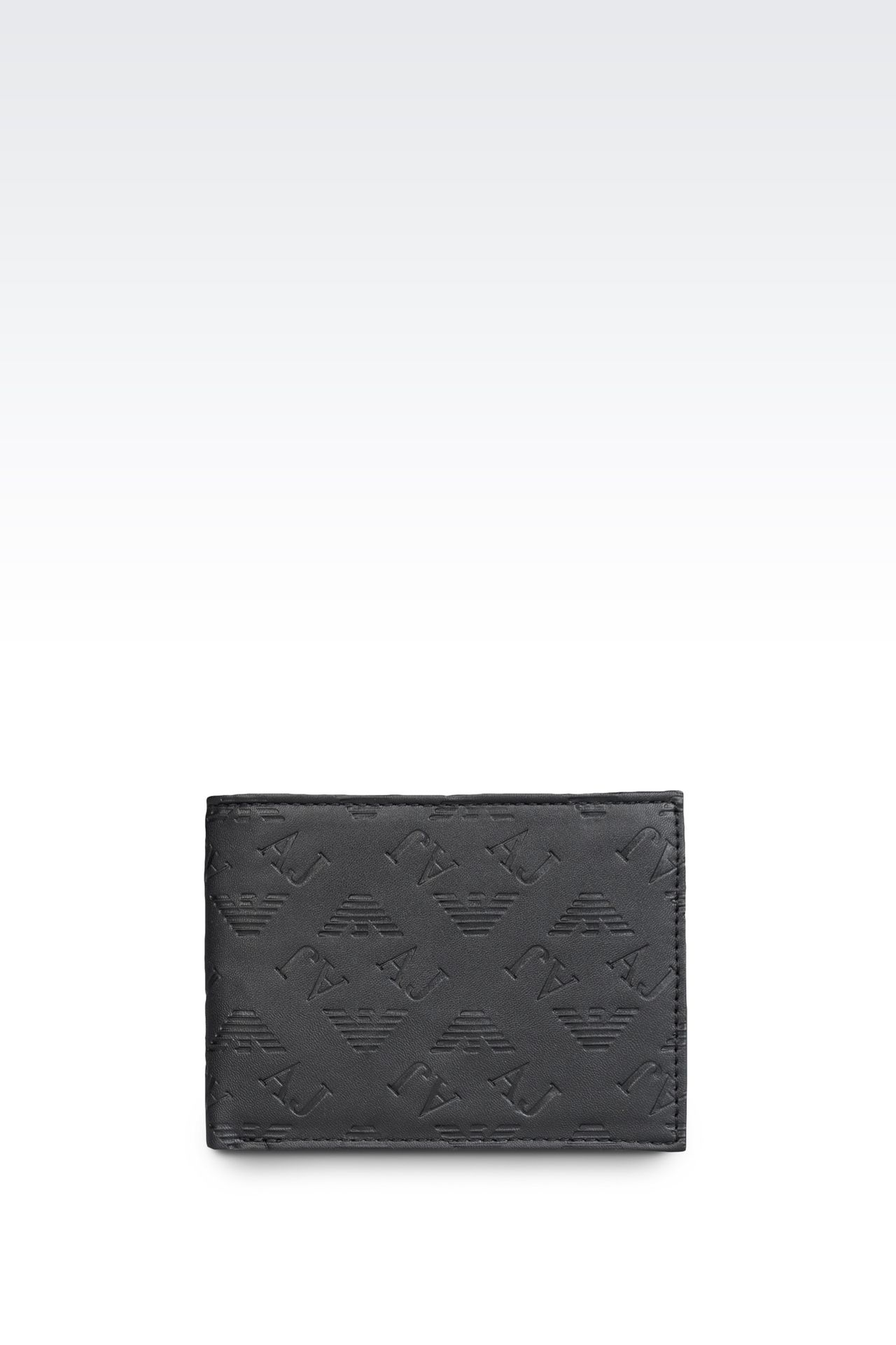 Small leather goods: Wallets Men by Armani - 0