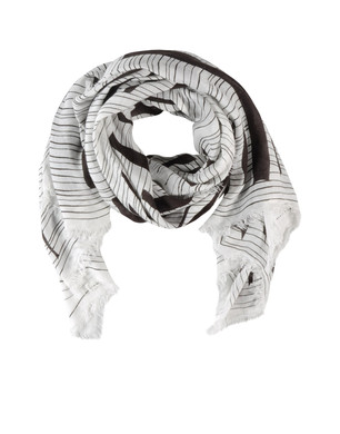 Square scarf Men's - ZZEGNA
