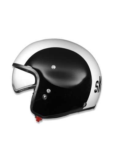 LIFESTYLE - Helmet - HI-JACK BLACK/WHITE/SK-Y78