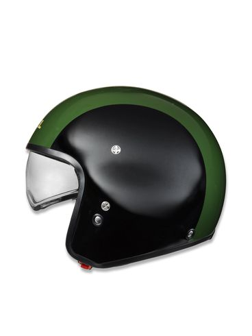 LIFESTYLE - Helmet - HI-JACK BLACK/GREEN