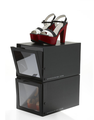 SHOESCRIBE.COM closet organizer Premium Box on sho
