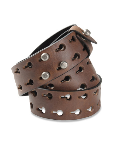 DIESEL BLACK GOLD - Belts - CHARLY-REV