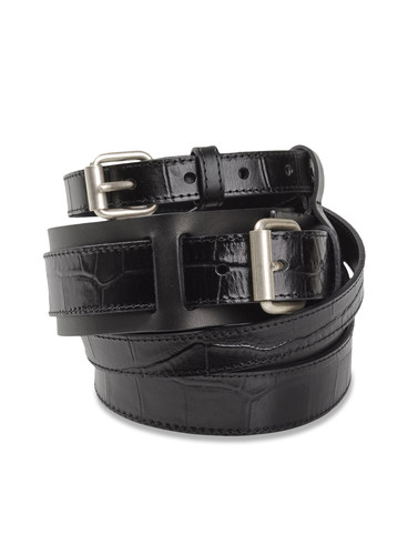 DIESEL BLACK GOLD - Belts - BLANCK