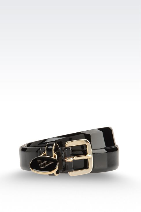 Belts: Reversible Belts Women by Armani - 1