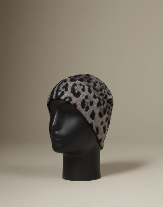 LEOPARD PRINT HAT - Hats - Dolce&Gabbana - Winter 2016