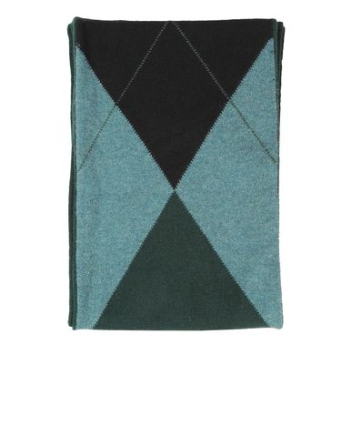 Tri-Color Argyle Scarf
