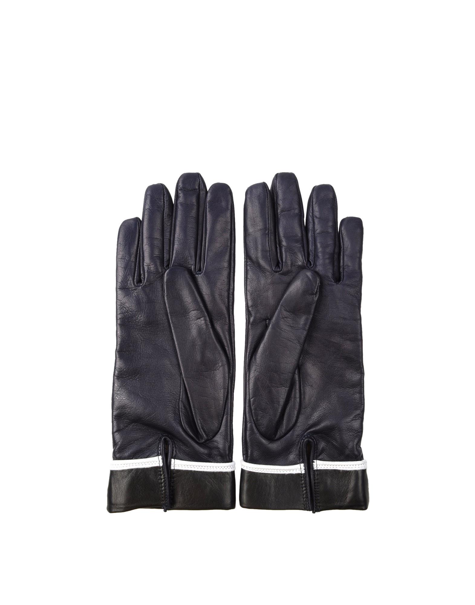 Gloves - JIL SANDER NAVY Online Store