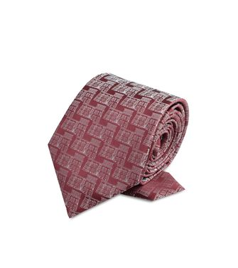 ERMENEGILDO ZEGNA: Tie Black - Dark brown - 46266018VQ