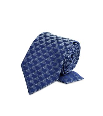 ERMENEGILDO ZEGNA: Tie Black - Dark brown - 46266020TW