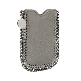 STELLA McCARTNEY, Custodia iPhone, Custodia per iPhone Falabella in Daino Ruvido