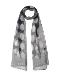 MANUEL RITZ WHITE - Oblong scarf