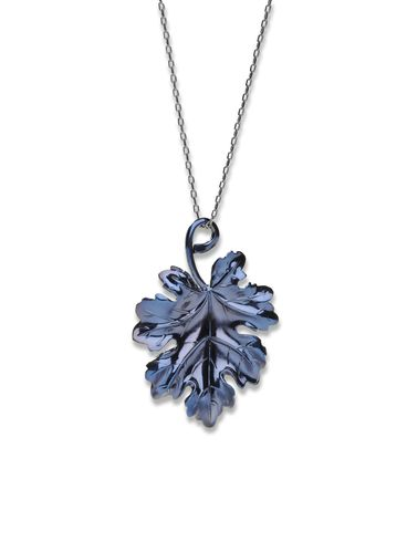 Andere Accessoires DIESEL BLACK GOLD: LEAF_PENDANT-NECKLAC