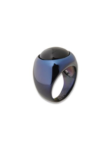 Andere Accessoires DIESEL BLACK GOLD: GEM_CHEVALIER-RING-F