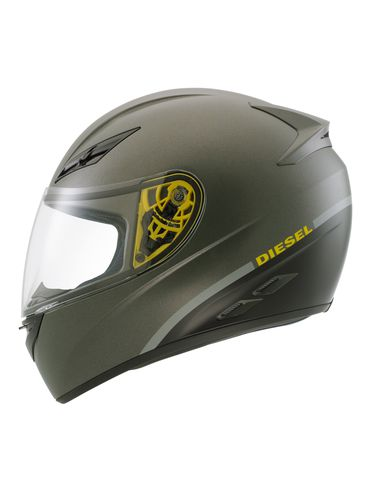 LIFESTYLE - Helmet - FULL-JACK GREEN/MAT BLACK