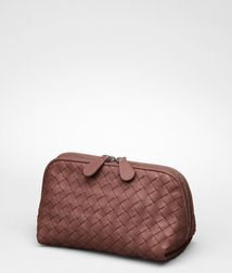 Cosmetic CaseSmall Leather GoodsLeatherRed Bottega Veneta®