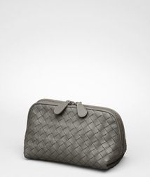 Cosmetic CaseSmall Leather GoodsLeatherRed Bottega Veneta