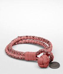 Leather BraceletSmall Leather GoodsAyers, Nappa leatherPurple Bottega Veneta®