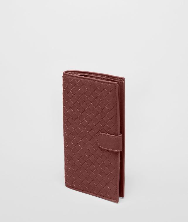 Nero Intrecciato Nappa Continental Wallet