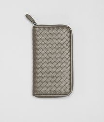 BOTTEGA VENETA - Wallets, Shadow Intrecciato Nappa Zip Around Wallet