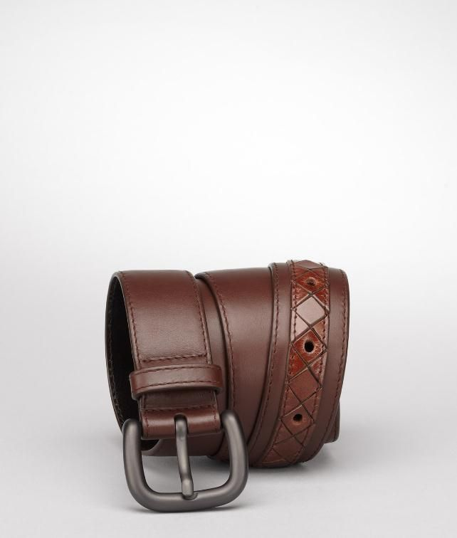Light Calf Intreccio Scolpito Belt