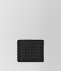 BOTTEGA VENETA - Wallets, Nero Intrecciato VN Wallet