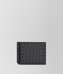 WalletSmall Leather GoodsLeatherBlack Bottega Veneta®