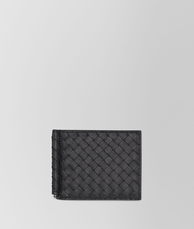 BOTTEGA VENETA WALLET IN NERO INTRECCIATO VN Bi-fold Wallet U fp
