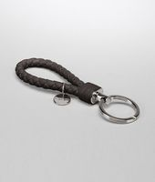 SHADOW INTRECCIATO NAPPA KEY RING