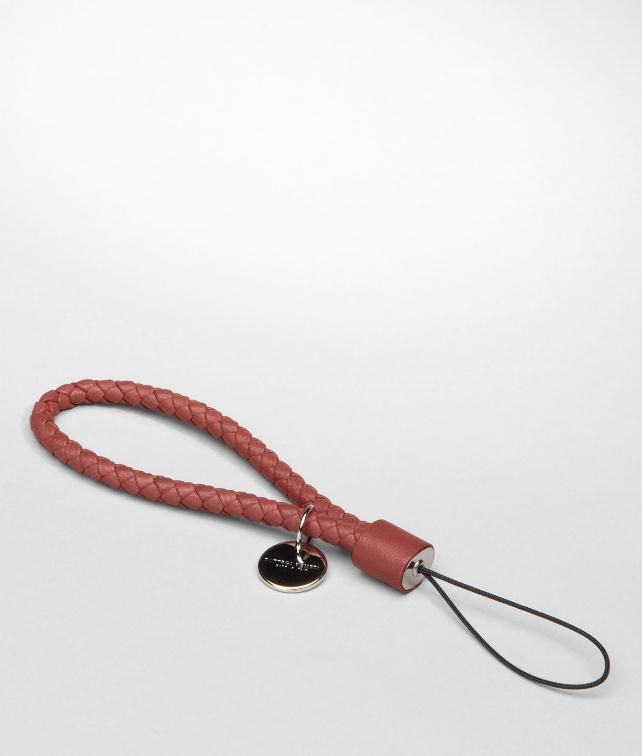 BOTTEGA VENETA Intrecciato Nappa Cell Phone Strap Other Leather Accessory E fp