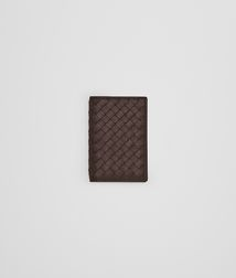Card Case or Coin PurseSmall Leather GoodsLeatherBrown Bottega Veneta®
