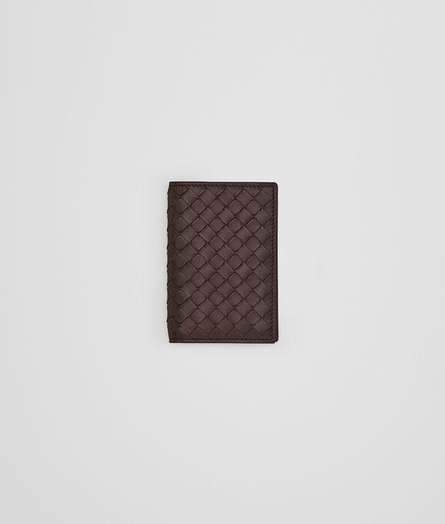 BOTTEGA VENETA Ebano Intrecciato VN Card Case Card Case or Coin Purse U fp