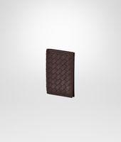 Porta Carte di Credito Ebano in VN Intrecciato