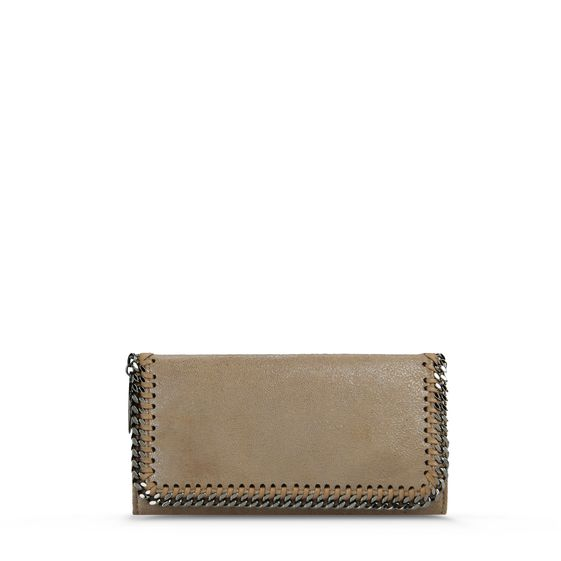 Stella McCartney, Falabella Chamois Flap Wallet
