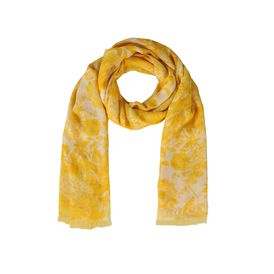 STELLA McCARTNEY, Scarf, Floral Print Silk Mix Scarf