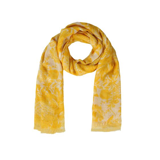 Stella McCartney, Floral Print Silk Mix Scarf