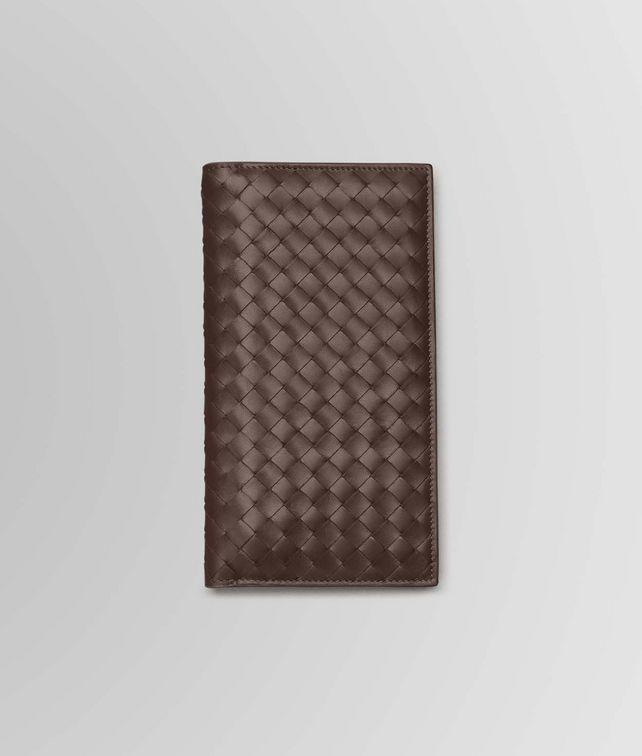 Continental Wallet aus VN-Leder Intrecciato Ebano