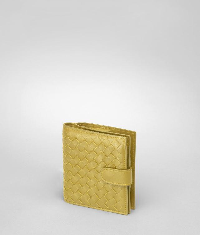 Edoardo Intrecciato Nappa Bi-Fold Wallet