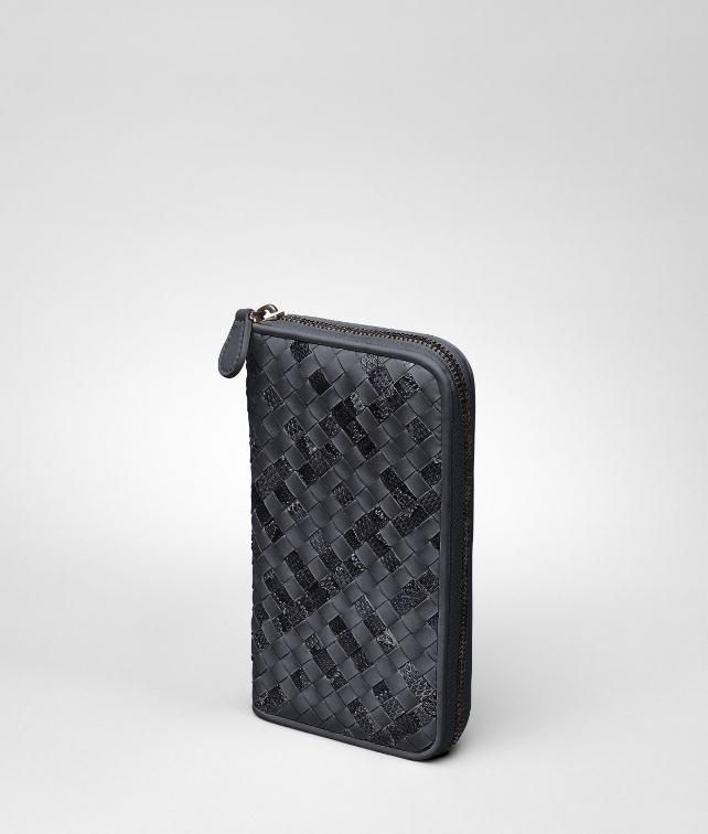 Intrecciato Ayers Nappa Zip Around Wallet