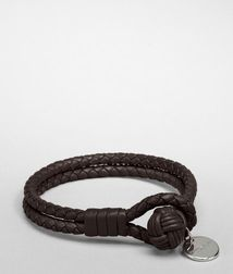 Leather BraceletSmall Leather Goods100% Nappa leatherBrown Bottega Veneta®