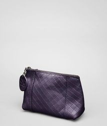 Cosmetic CaseSmall Leather GoodsLeatherWhite Bottega Veneta