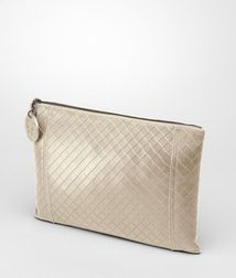 Cosmetic CaseSmall Leather GoodsLeatherWhite Bottega Veneta®