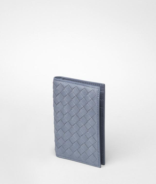 BOTTEGA VENETA Intrecciato Washed Lambskin Card Case Card Case or Coin Purse U fp