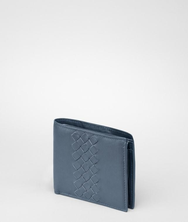 Light Calf Intrecciato Wallet