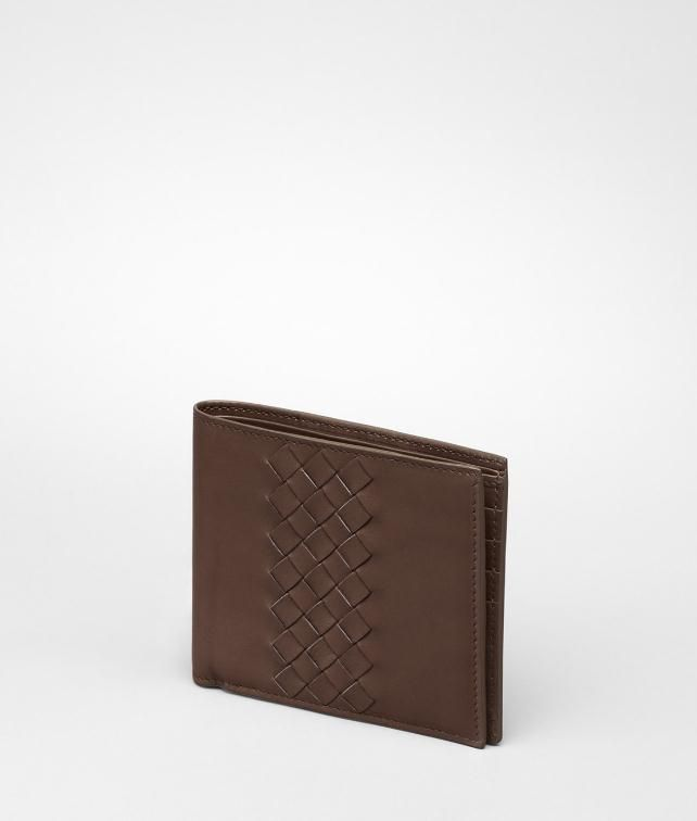 Intrecciato Light Calf Wallet